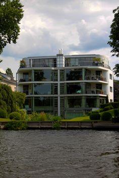 Hamburg Alster Villa - Architektenhaus Kreuzfahrtschiff