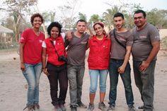 El equipo departamental de la zona sur Magdalena y Bolívar