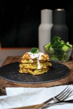 Rezept: Käsige Kartoffelpuffer aus dem Ofen. Weniger Fett, gleich viel Spaß. | Ach du gute Güte!