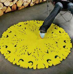 Fantastic Floor Coverings: 13 Unusual Rug Designs COMPRAR EM http://www.iqmatics.com/webstore/productdetail.aspx?prodid=825&depid=-1