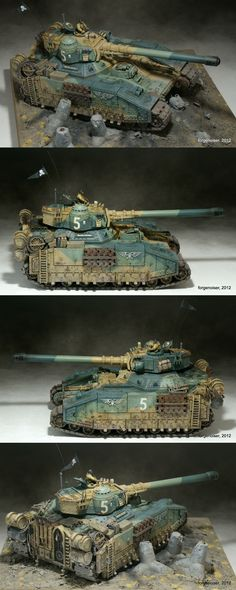 Cadian Baneblade-Destroyer Pattern Super-Heavy Tank Destroyer.