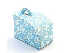 Vintage Blue Wedding Cake Boxes Wedding Cake Boxes