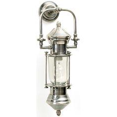 "Restoration Warehouse by Candelabra: Brent Sconce • Product ID: 24302 • Dimensions: Bracket = 4"" Diameter; Fixture = 9""L x 6""Diameter x 21"" H • Product Description: ""Hip Vintage""; Material: Brass / Finish: Vintage Industrial"