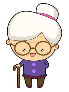 Free to Use &, Public Domain Granny Clip Art