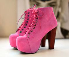 i just love pink and the round toe