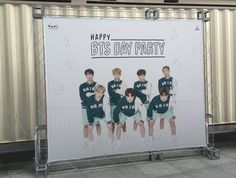 Happy BTS Day Party에 오시는 아미분들 늦지 않게 조심히 오세요! 티켓교환 때 같이 나눠드린 BTS 어워즈 2차 투표 스티커를 원하시는 후보에 꼭 붙여주세요! #방탄소년단3주년축하해
