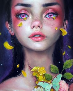 Indie art painting inspiration ideas 76 - Savvy Ways About Things Can Teach Us Indie Kunst, Indie Art, Fantasy Magic, Fantasy Art, Art And Illustration, Happy D Artist, Painting Inspiration, Art Inspo, Bel Art