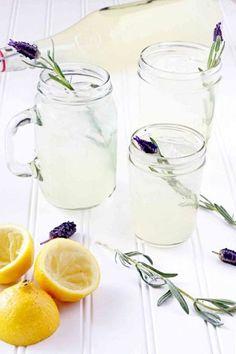 simple but delicious lavender lemonade