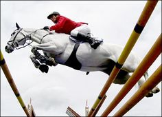 Show jumping is over the top!