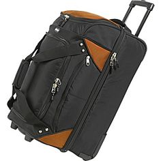 I have found eBags to be a terrific maker of luggage.  This is my go-to bag for trips with multiple agendas (leisure and business) on trips over 5 days.  It is a bag you have to check - but since the doc told me not to shlep heavy bags, I've been checking a lot more.  Very easy to drag/lift, even at this size. Highly recommended.