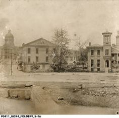 Monument Circle, ca. 1888 :: Assorted Images from IHS Collections