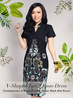 Home - Batik Kultur Batik Kebaya, Kebaya Dress, Cheongsam Dress, Model Dress Batik, Batik Dress, Mode Batik, Simple Dresses, Dresses For Work, Tulle Skirt Tutorial