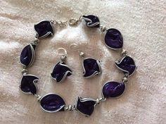Collana e orecchini realizzati con cialde caffè da Vilma Perego milano
