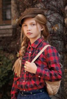 Tartan....love this style. Always mod and something like my little girl wore.