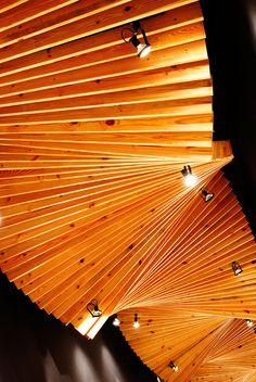 CASACOR 2008, Panama - Bettis Tarazi #interiordesign #interiors #ceiling #design #infinite #corridor #architecture #timeless