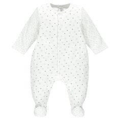 Dors-bien en coton imprimé étoiles du prématuré au 3 mois  Main
