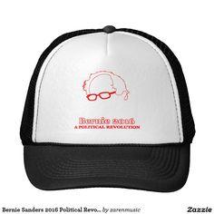 Bernie Sanders 2016 Political Revolution Hats