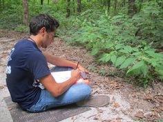 Get students involved with nature while reading and writing. They will benefit!