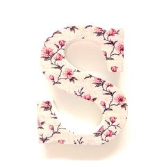 Wooden Floral LettersB Gift Floral Letters Prettytwisted