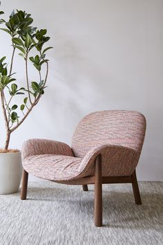 M Lounge Chair by Monica Förster for Arflex