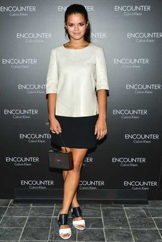 Bip Ling at the Encounter Calvin Klein fragrance launch
