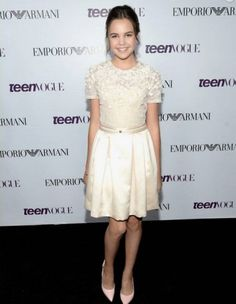 #Bailee #Madison T#een #Vogue #Young #Hollywood #Party #Los #Angeles - U.S.A. #ELISABETTA FRANCHI #dress #SS13