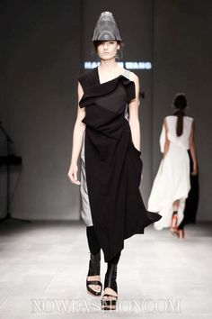 Haizhen Wang at Fashion Fringe SS 2013