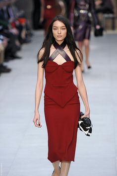Burberry - red