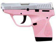 Taurus PT 738 TCP Pink Stainless 380 ACP Pistol - Hyatt Gun Store Find our speedloader now!  http://www.amazon.com/shops/raeind