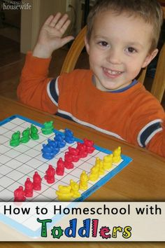Tips on How to Homeschool with Toddlers   The Happy Housewife