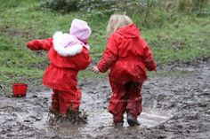 let the children play: Say Yes to Outdoor Play in Winter