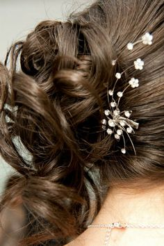Hair #weddings #weddingsa #thebridalbroker #hairinspo #details #bride