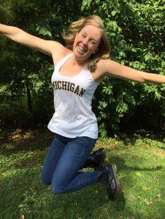 Michigan Reels in Recruit, Distance Star Sierra Schmidt College Recruiting, Schmidt, Distance, Discovery, Michigan, Star, Tank Tops, Women, Fashion