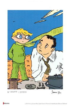 Ex Libris Le petit Prince (Joann Sfar) - Ed. Télérama 2008