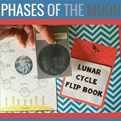 Students will be able to explain the phases of moon with the LUNAR CYCLE FLIP BOOK. This is one of many engaging activities found inside my Astronomy and Space: Earth Science Interactive Notebook
