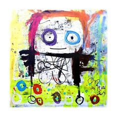 Art Print: Play with Me by Poul Pava : 16x16in