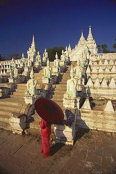 Pagoda, Mingun, Sagaing Divison, Myanmar
