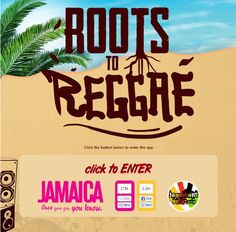 Enter to win a trip to Jamaica for Reggae Sumfest 2013. Simply submit a 2 minute video of why you love Jamaica and Jamaican music. Click the image for contest details or go to www.rootstoreggae.com
