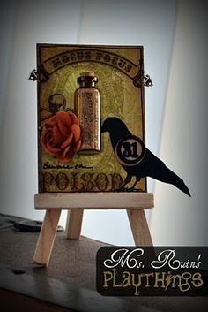 """""""Beware the Poison"""" by Ms. Ruin"""