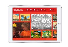 Highlights Magazine goes digital! Great for road trips and educational screen time.