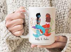 Best Friend Mug, Friend Mugs, Best Friend Gifts, Your Best Friend, Best Friends, Christmas Gifts For Friends, Christmas Mugs, Youre My Person Mug, Mermaid Mugs