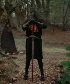 o hilario cavaleiro negro de monty pyton em busca do santo graal