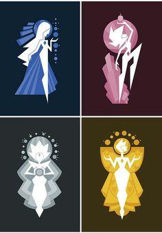 The diamonds steven universe