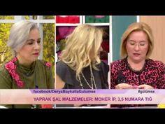 Derya Baykal'la Gülümse: Yaprak Şal Yapımı - YouTube