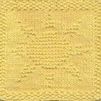 Free Knitting Pattern - Dishclothes & Washcloths : Sun Dishcloth