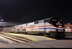 RailPictures.Net Photo: AMTK 822 Amtrak GE P40DC at Salt Lake City, Utah by Steve Ellis