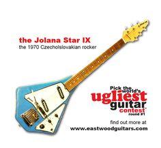 Is the 1970 Jolana Star IX guitar from Czecholslovakia the World's Ugliest Guitar?