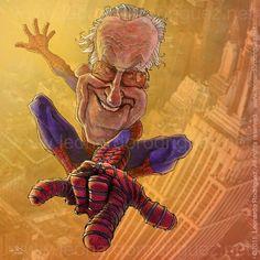 """Stan """"Spiderman"""" Lee."""