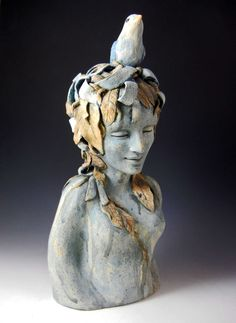 Pam Stern, Ceramic figurative sculptures, Fort Worth , Texas artist !!! love her work so much.