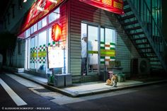 フランス人写真家のアレキサンダー・ボンヌフォアは沖縄から北海道まで日本全国を旅した。その際に出会った猫たちを撮影し、「Neko Land(猫ランド)」という写真集を出版した。